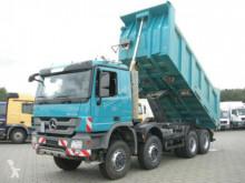 camion Mercedes Actros 4141 8x6 4 Achs Muldenkipper Meiller 17m³
