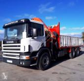 camion Scania CAMION GRUA VOLQUETE SCANIA 340 6X2 PALFINGER PK 29002 20042004