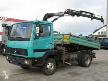 Mercedes LN 814 K 2-Achs Kipper Kran Hiab 045 truck