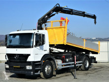 ciężarówka Mercedes Axor 1829 Kipper 5,20m + Kran*Topzustand