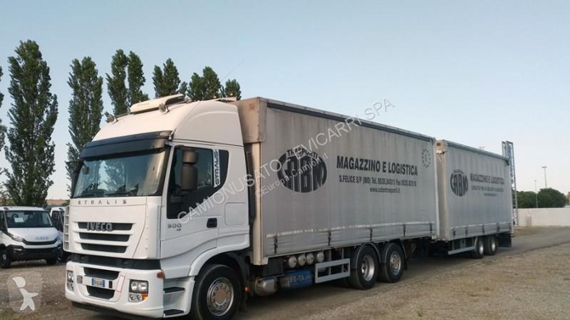 Voir les photos Camion Iveco AS260S50YFS/CM + BIGA OMAR