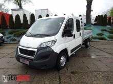 camião Peugeot BOXERSKRZYNIA DOKA 7 MIEJSC SALON POLSKA SERWIS ASO [ 0889 ]