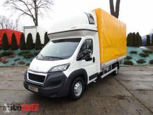 camião Peugeot BOXERPLANDEKA 10 PALET WEBASTO KLIMA TEMPOMAT PNEUMATYKA LEDY A