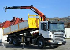 ciężarówka Scania P340 Kipper 6,20m +Kran*6x2*Topzustand