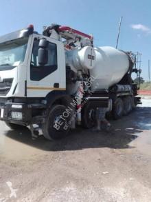 camion betoniera cu malaxor si pompa second-hand