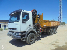 camion Renault CAMION GRUA VOLQUETE RENAULT 330 6X4 2004 PALFINGER PK 21502 200