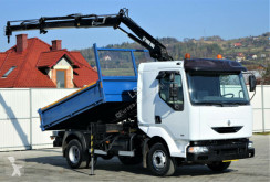 camion Renault MIDLUM 150 Kipper 3,00 m + Kran Topzustand!