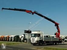 camion Scania R 480 / 6X4 / CRANE PALFINGER PK 40002 + FLY JIB