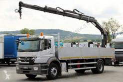 ciężarówka Mercedes AXOR 1829 / 4X2 /CRANE HIAB 144 / RADIO / EURO 5