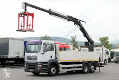 camion MAN TGA 26.350 / 6X4 / CRANE HIAB 185/SADDLE/CATCHER