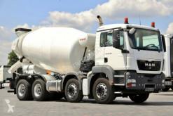 ciężarówka MAN TGS 32.360 / 8X4 / BETONMIXER 9M3 /BARYVAL /E 5