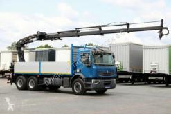 vrachtwagen Renault LANDER 410 DXI/ 6X4 / CRANE TEREX 190.2 E/REMOTE