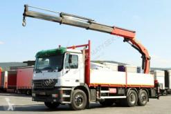 camião Mercedes ACTROS 2540 / 6x2 /CRANE PALFINGER PK23002 /