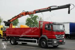 ciężarówka Mercedes AXOR 1829 / 4X2 /CRANE ATLAS 125.2 / SADDLE