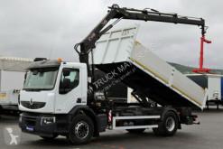 camion Renault LANDER 270 /4X2/ TIPPER + CRANE HIAB 122/ REMOTE
