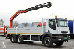 camion Iveco TRAKKER 360 / 6X4 / CRANE PALFINGER PK 15500 /