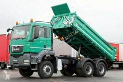 camion MAN TGS 26.440 / 6X6 / 3 SIDED TIPPER / MANUAL/ E5 /
