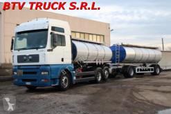vrachtwagen met aanhanger tank MAN