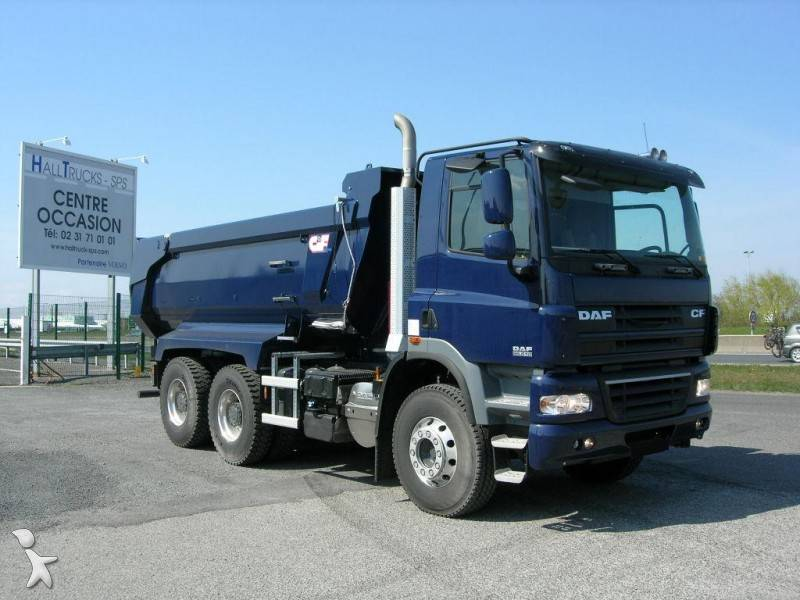 Used Diesel Trucks >> Used DAF CF85 half-pipe tipper truck Cif FAT 510 6x4 ...