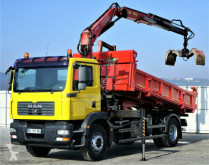 camion MAN TGM 18.280 kipper 4,70m +CRANE/ FUNK!!