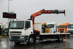 camión DAF CF 75.310 / 4X2 / CRANE PALFINGER 15500 / RADIO