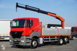 camião nc MERCEDES-BENZ - AXOR / 2543 / 6 X 2 / SKRZYNIOWY + HDS / MANUAL