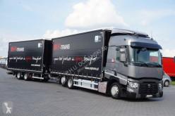 camión Renault - T 460 / EURO 6 / ZESTAW PRZESTRZENNY 120 M3 + remorque