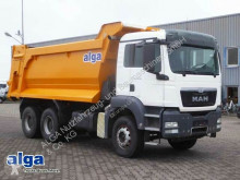 Voir les photos Camion MAN 33.400 BB TGS 6x4, klima, stahl 20m³, Blatt