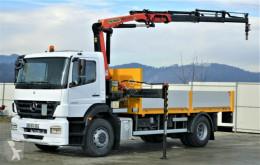 ciężarówka Mercedes Axor 1829 Pritsche 5,10m + Kran/FUNK*Topzustand