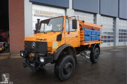 Mercedes gritting truck