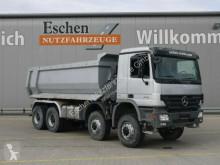 Mercedes 4141 AK, 8x8, Muldenkipper, Klima, Blatt truck