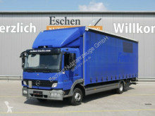 camion Mercedes 1222 L, 4x2, 1.5t LBW, Schiebeplane, Bl/Lu