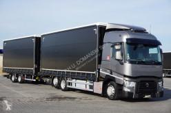 ciężarówka Renault - T 460 / EURO 6 / ACC / ZESTAW PRZESTRZENNY 120 M3 + remorque