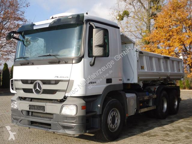 Voir les photos Camion Mercedes 2644 6x4 EURO5 DSK mit Bordmatik Meiller