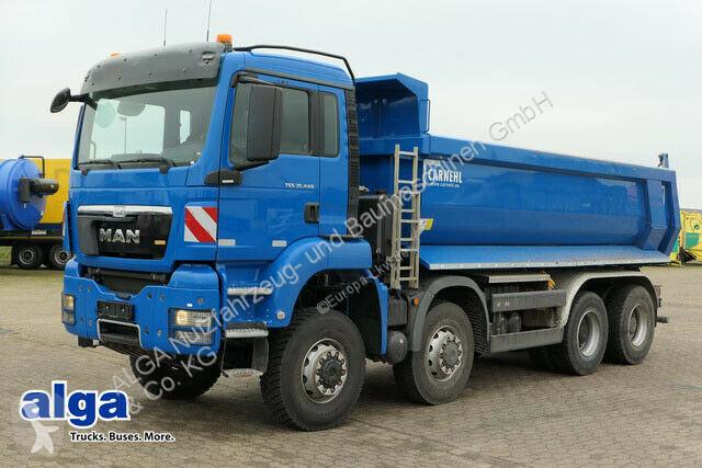 Voir les photos Camion MAN 35.440 BB TGS 8x8,Allrad,nur 97 Tkm, 19 m³ Mulde