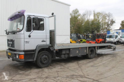 MAN heavy equipment transport truck