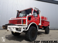 camion Unimog MB U1550 L37 - Fire Truck - Lier, Winch, Winde - Watertank - Pomp - Dingo Achsen!