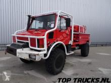 camion Unimog MB U1550 L37 - Fire Truck - Lier, Winch, Winde - Watertank - Pomp - Dingo Achsen!