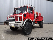 камион Всъдеход MB U1550 L37 - Fire Truck - Lier, Winch, Winde - Watertank - Pomp - Dingo Achsen!