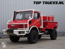 camion Unimog MB U1550 L37 (2150) - Fire Truck - Lier, Winch, Winde - Watertank - Pomp - Dingo Achsen!