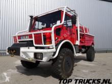 camion Unimog SOLD MB U1550 (2150) L37 - Fire Truck - Lier, Winch, Winde - Watertank - Pomp - Dingo Achsen!
