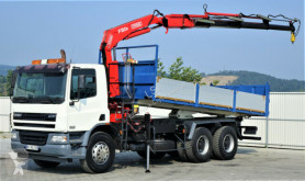 ciężarówka DAF CF 75.360 *Kipper 6,10 + Kran*6x4 *Topzustand!
