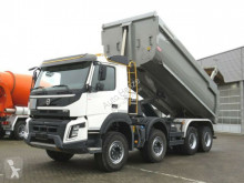 camion Volvo FMX 420 8x4 4 Achs Muldenkipper Meiller Halfpipe