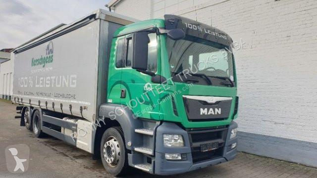 Voir les photos Camion MAN 26.400 LL/6x2/4  26.400 LL/6x2/4, Lenk-Liftachse