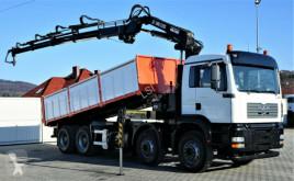 camion MAN TGA 35.390 Kipper 6,30 m+Kran/FUNK Top Zustand