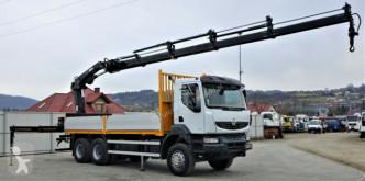 Renault Kerax 370 DXI*Pritsche6,30m+Kran/FUNK*To truck