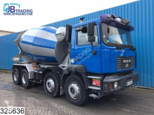 camion MAN 32 414 Liebherr, 9M3, Steel suspensoion, Manual, Beton / Concrete mixer