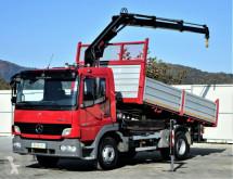 camion Mercedes ATEGO 1022 Kipper 4,10m+Kran Topzustand!