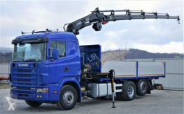 camion Scania 164L 580 Pritsche 6,30m +Kran /FUNK Topzustand!