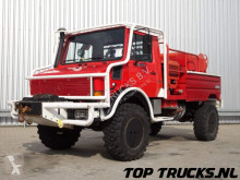 камион Всъдеход MB U1550 L37 (2150) - Fire Truck - Lier, Winch, Winde - Watertank - Pomp - Dingo Achsen!